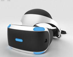 3D model Sony PlayStation VR