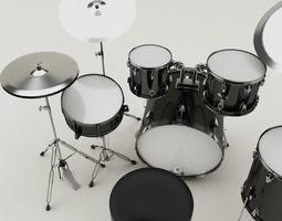 Drum set 001 3D