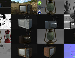3D Retro collection