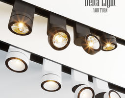 Delta Light You-Turn Lamps 3D