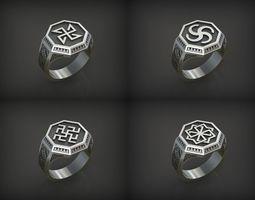 Slavianic Rings 3D