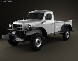 Dodge Power Wagon 1946 3D model