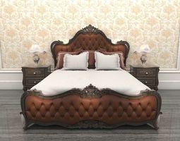 3D model Bed Classic 3