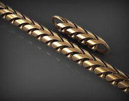 Chain Link 136 3D print model