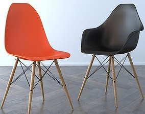 Vitra Chairs 3D model