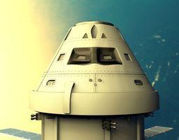 3D model aircraft Spacecraft
