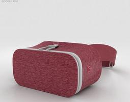 3D model Google Daydream View Crimson