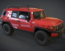 TOYOTA FJ Cruiser 2015 3D asset realtime