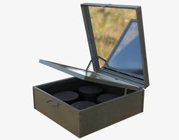 Solar Cooker Box type 3D model