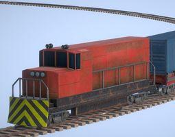 Train Controller Railroad System 3D model