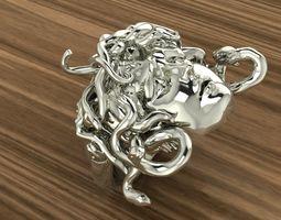 medusa ring 3D print model