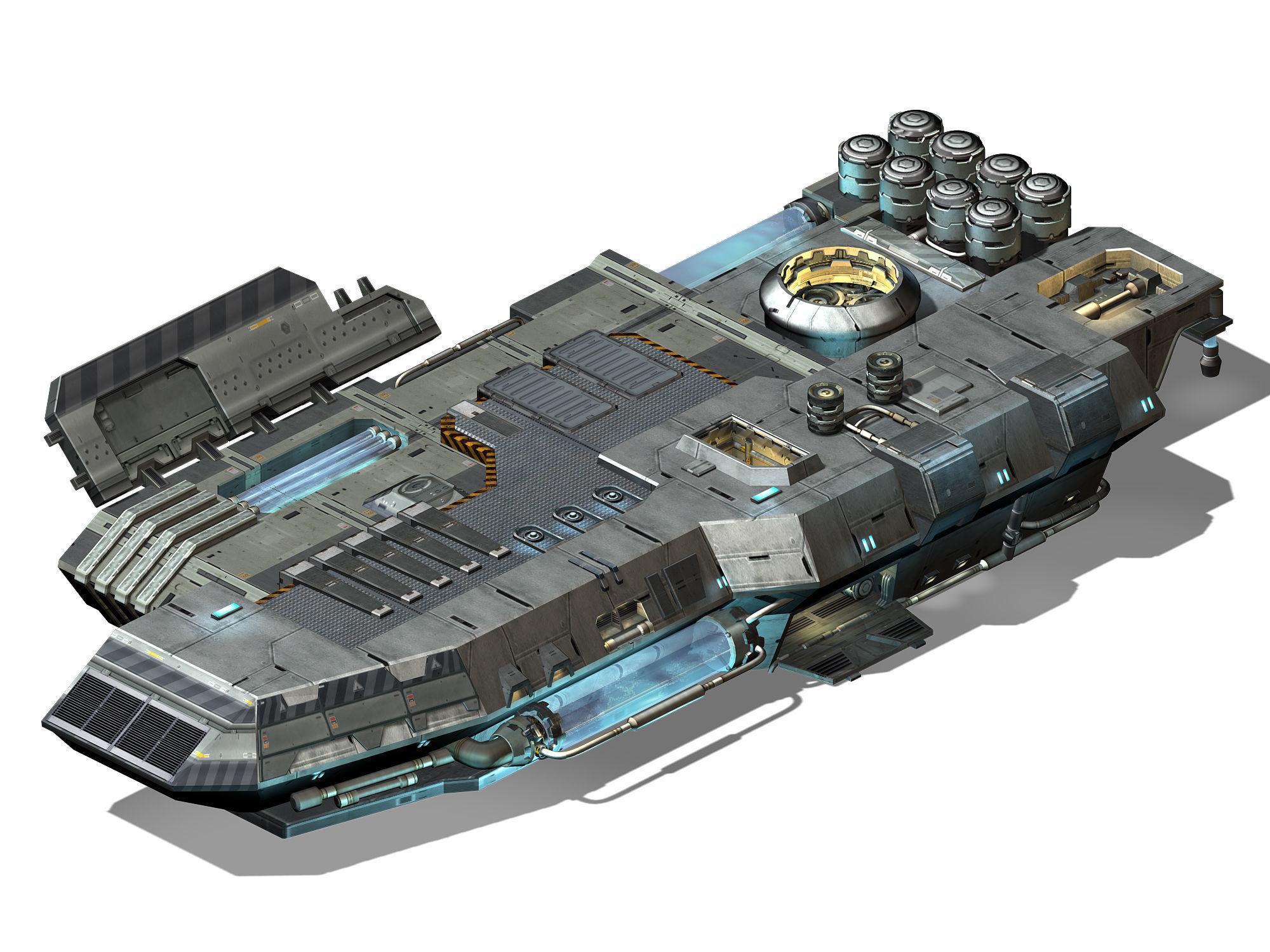 Space Station - Ground Operating Platform 01