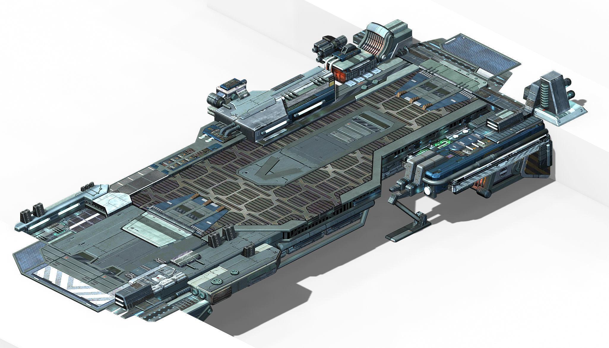 Space Station - Bridge 02