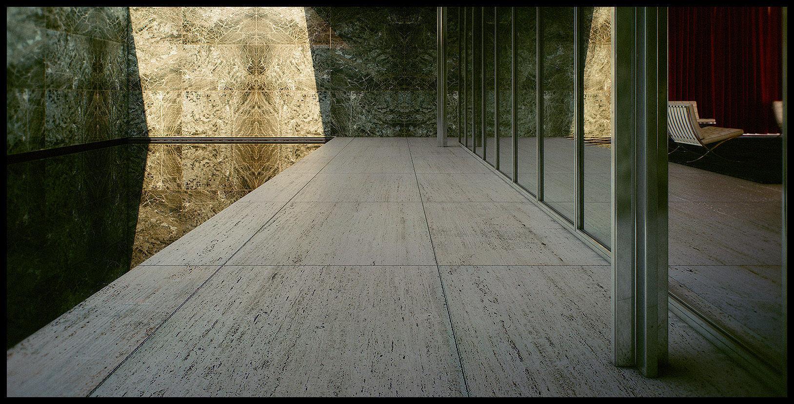 Mies Van Der Rohe Barcelona Pavilion - Third - Seventh 3D Scene
