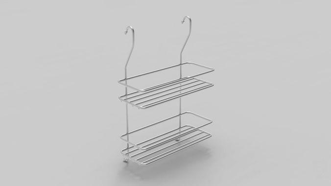 kitchenware metal part 3d model max obj mtl 3ds fbx 1