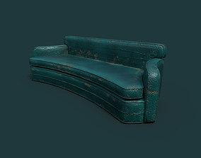 Demaged Sofa 3D model
