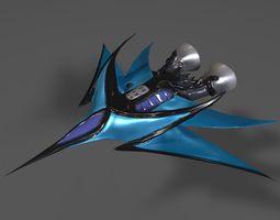3D Refraction Jet - Shuttle aircraft