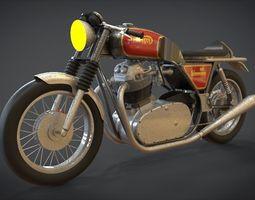 1974 Norton Commando 3D asset realtime