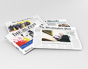 3D Newspaper editable