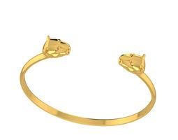 Bracelet Lions 3D print model