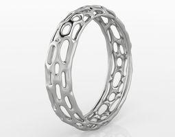 3D printable model Voronoi Ring