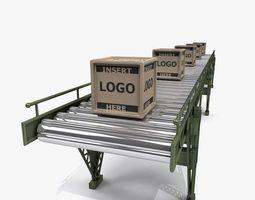 Conveyor Belt A 3D