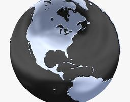 3D model Globe A