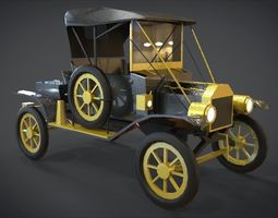 game-ready 1913 Model T