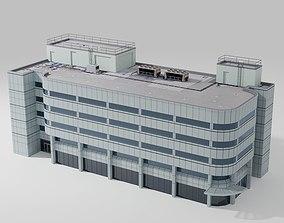 architectural 2000 Broadway Building 3D model