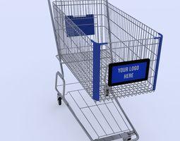 chain Shopping Cart 3D model