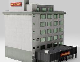 3D model Wells Fargo Bank