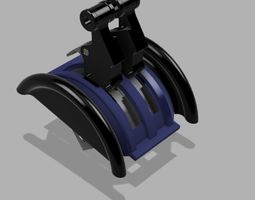 A320 Throttle kit for saitek 3D printable model