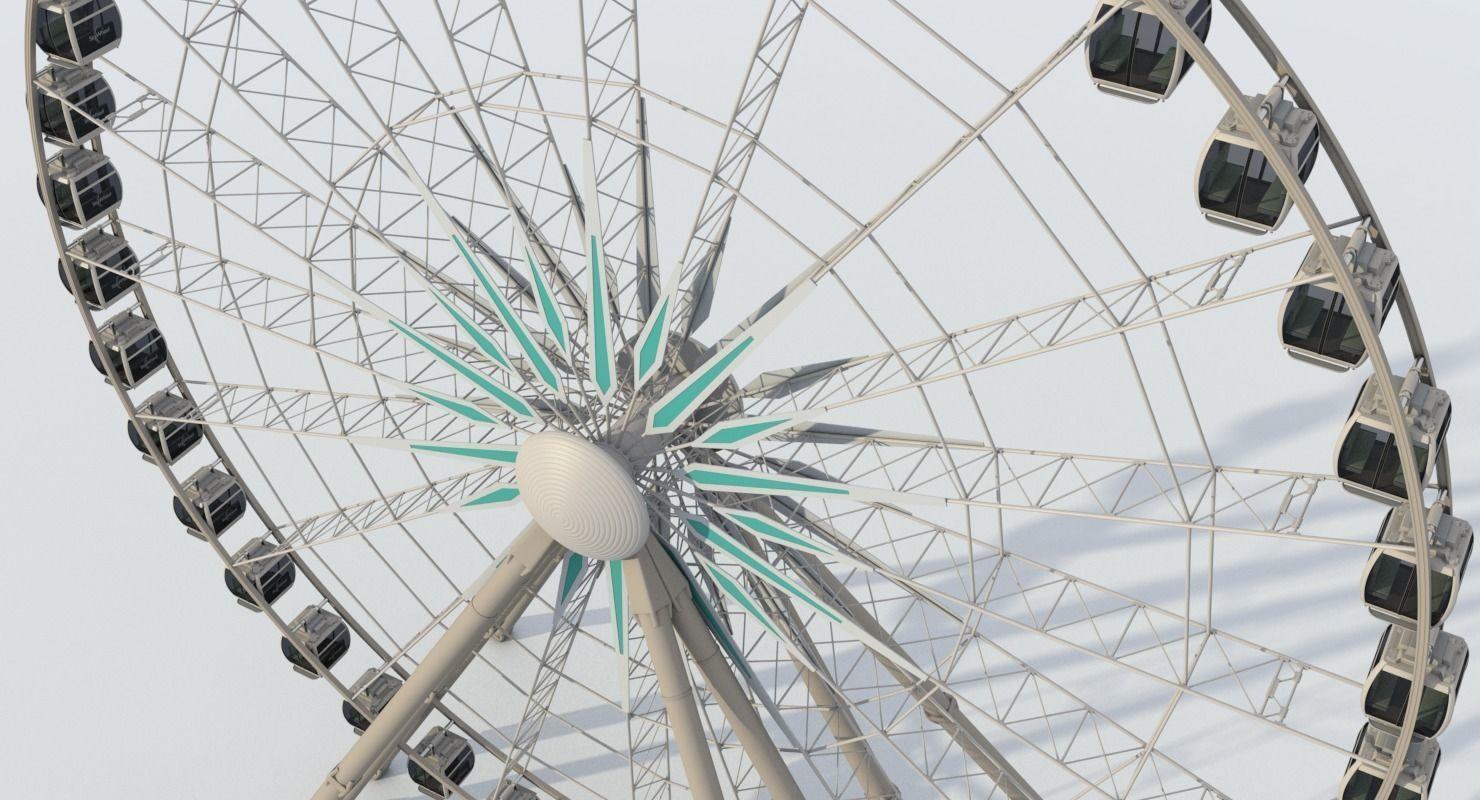 Sky Ferris Wheel | 3D model