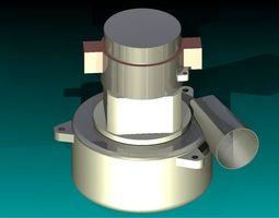 Motor Vacuum 3D model