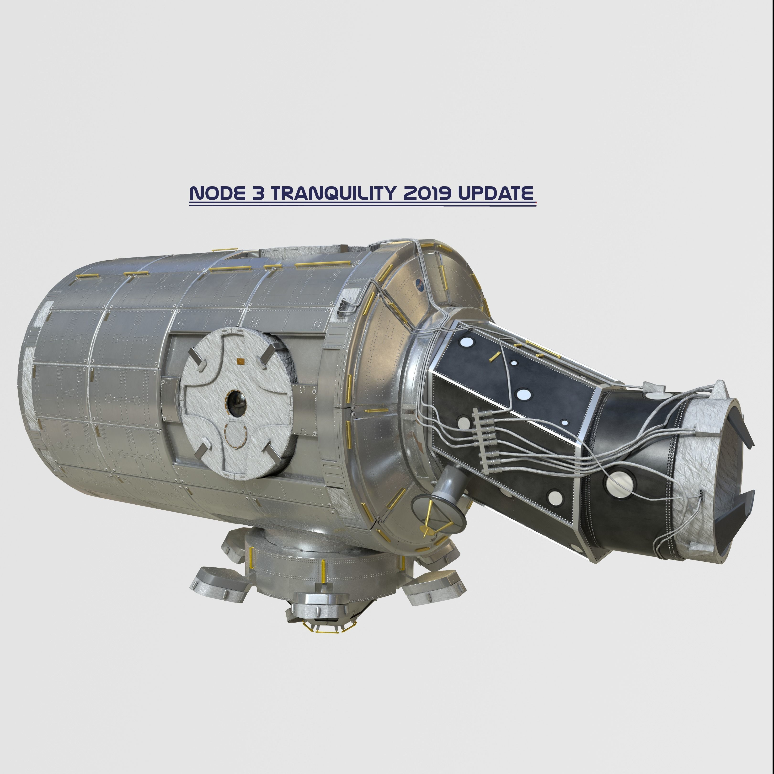 Node Three Tranquility module on ISS