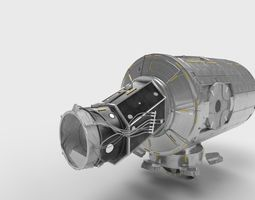 3D model Node Three Tranquility module on ISS