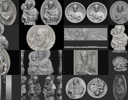 3D model Saints collection