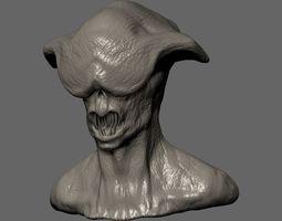 3D print model Creature Bust 2