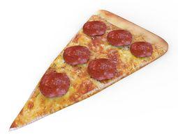 3D model low-poly Pizza