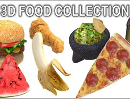 vanilla Food Collection 3D