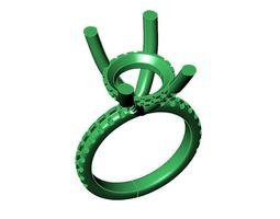 Engagement Ring-10 3D print model