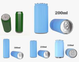 3D Beverage cans