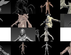 A large collection of high-poly models from the program
