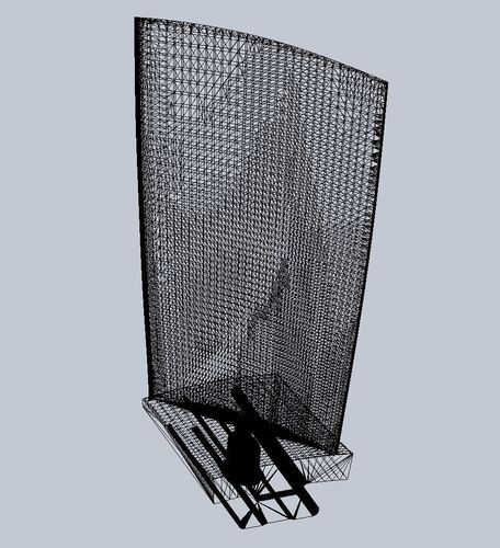 Turbine Blade Desk Model