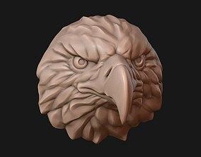 Eagle head falcon 3D printable model
