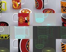 3D model Coffee Mugs