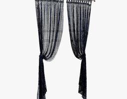 3D asset curtain