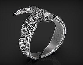 3D printable model Stylized Bird Swallow Ring