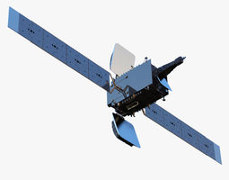 Azersat Satellite 3D model