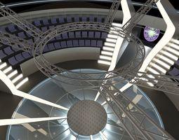TV Studio Competition Set 1 Millionaire 3D model